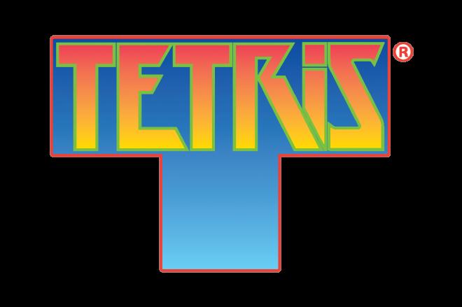 テトリスのロゴ。電通はアパレルやゲーム音楽を使ったイベントを企画していくという