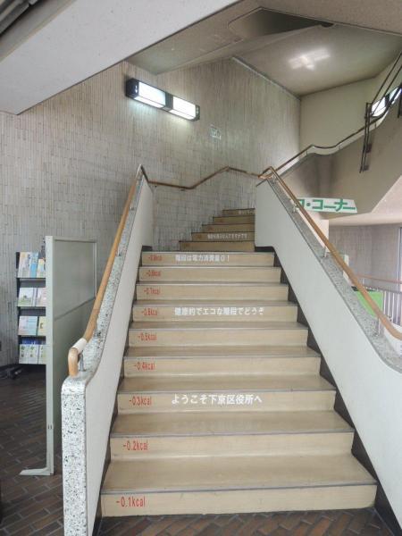 1階から2階にかけて
