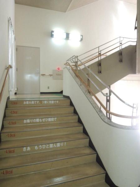 2階から3階にかけて