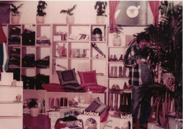 オープン当時のビームス1号店