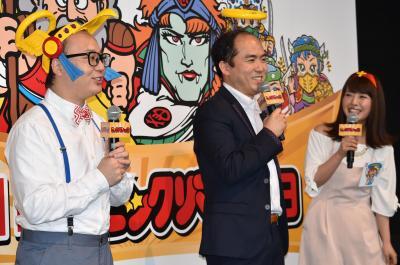 ビックリマンの思い出を語るトレンディエンジェルと山田菜々さん