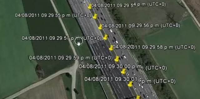 スマホの位置情報を取り出し、所有者の移動経路も分析できる