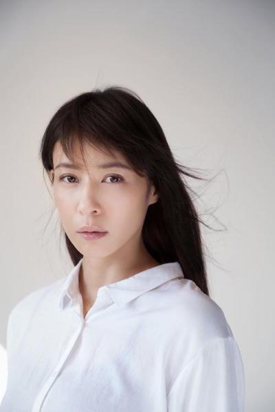 髪が長かった頃の女優の水野美紀さん