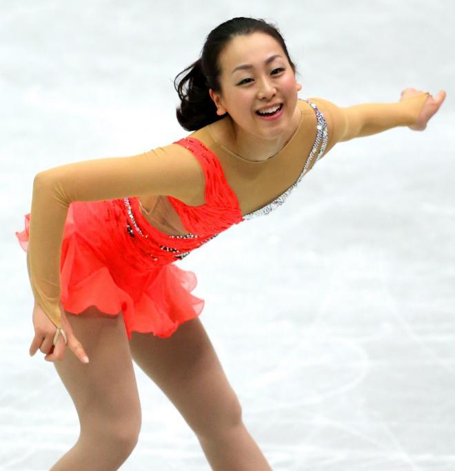 2013年の浅田真央選手