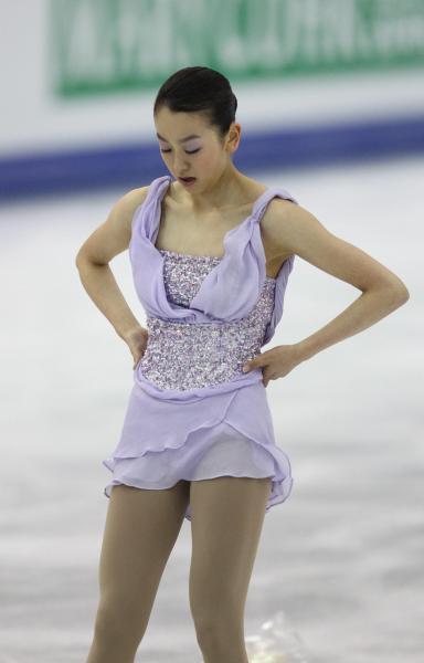 2012年の浅田真央選手