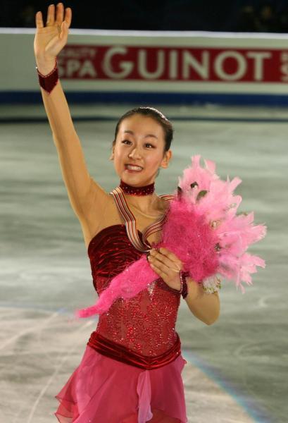 2008年の浅田真央選手