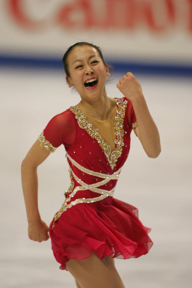2007年の浅田真央選手