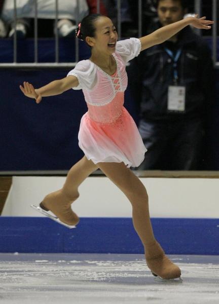 2005年の浅田真央選手