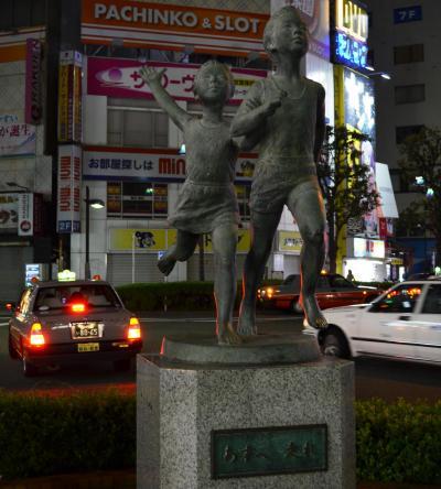 蒲田駅西口にあるモニュメント。渋谷でいうところのハチ公のような存在でしょうか