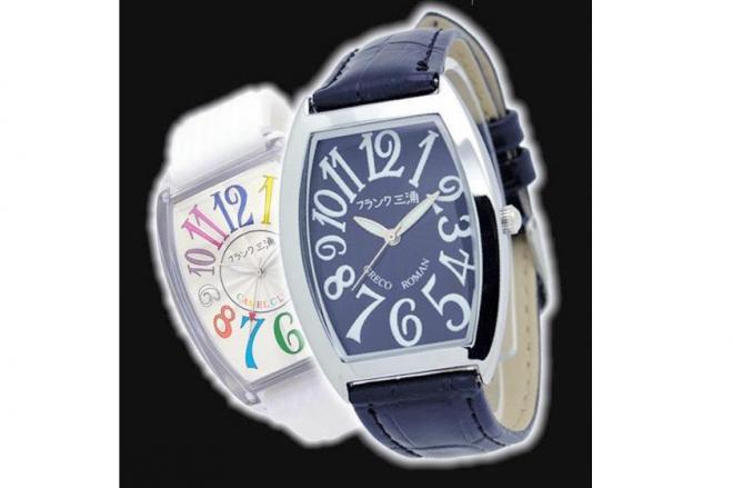 パロディー時計「フランク三浦」