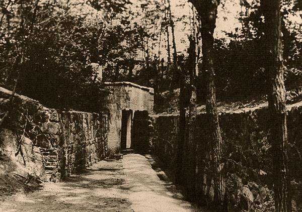 1905年に最初にミネラルウォーターが発見された刺猬井