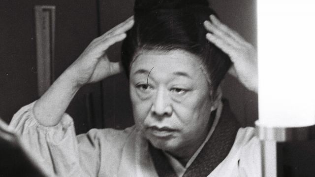 柳家金語楼さん=1959年3月