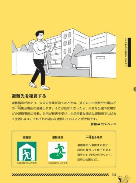 東京防災から「室外の備え