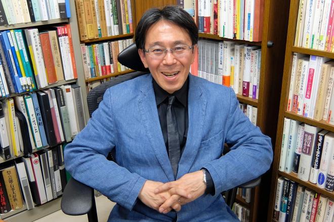 保育園ブログについて「新聞の存在感が小さかったですね」と語る京都大の佐藤卓己教授