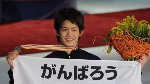 2011年4月、モスクワで開かれた世界選手権で銀メダル