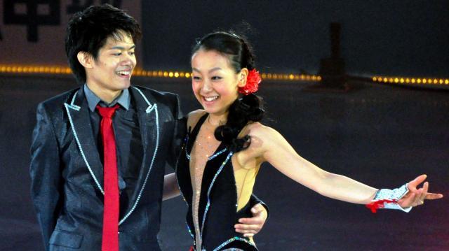 2011年、アイスショーで浅田選手とペアプログラムを滑った