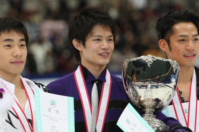 2010年12月、全日本選手権で初優勝した小塚崇彦
