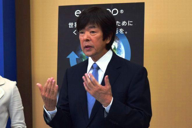 21日に放送されたテレビ通販番組での高田明・前社長