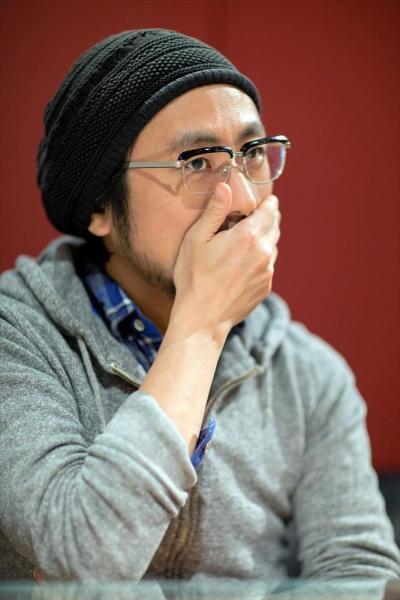 家入一真さん=2016年3月23日、鬼室黎撮影
