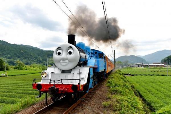 大井川鉄道の「きかんしゃトーマス号」