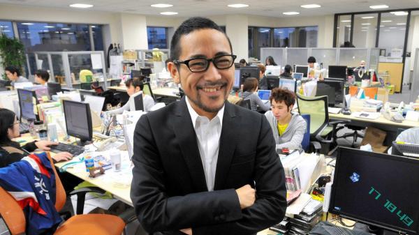 2009年2月、IT企業代表取締役時代の家入一真さん