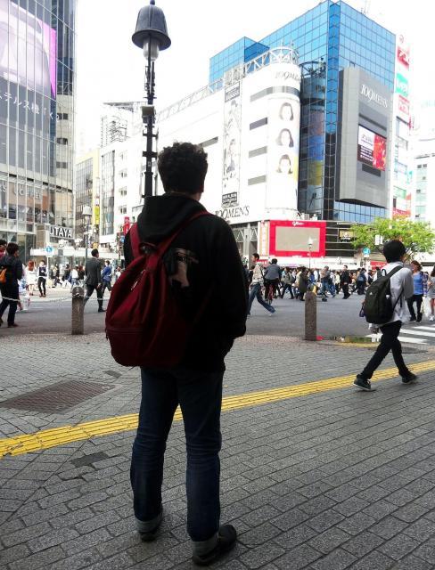 浅生鴨さん=東京都渋谷区