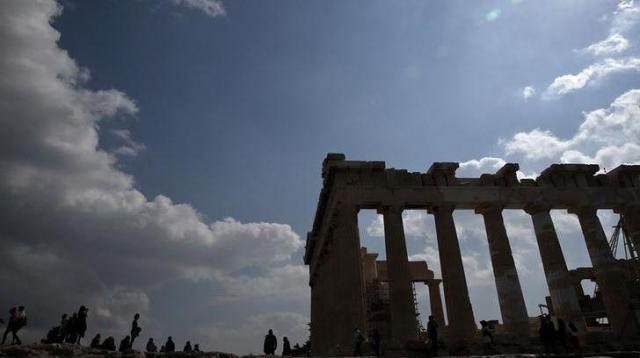 ギリシャのパルテノン神殿=ロイター