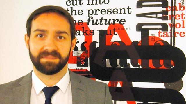 スイス大使館文化・広報部長のミゲル・ペレス=ラ プラントさん