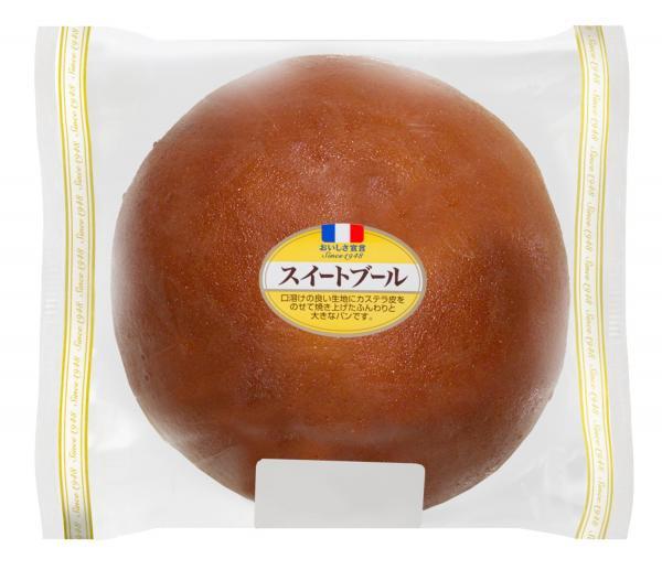 ヤマザキ菓子パン人気投票9位:スイートブール 「おおきく、味もよいのでこれだけで食べてもいけますし、牛乳やコーヒーにもあうところがよいです(40代男性)