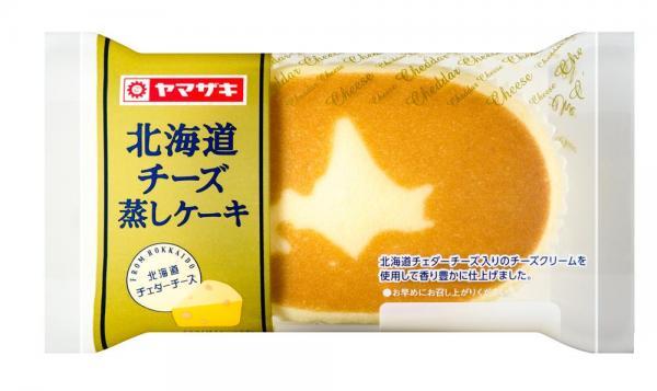 ヤマザキ菓子パン人気投票1位:北海道チーズ蒸しケーキ 「チーズの味がしっかりしていて、食べた時のふわっとした感じが大好きです(20代女性)」