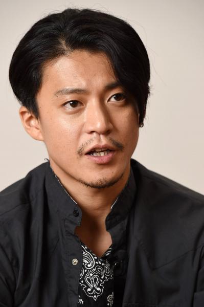 「カリギュラ」などに出演した小栗旬さん=白井伸洋撮影