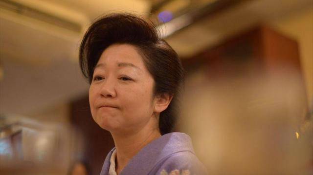 「怒られるのが怖い? 叱られればいいんです。そして、きちんと謝るの」(白坂亜紀さん)=東京都中央区、小玉重隆撮影