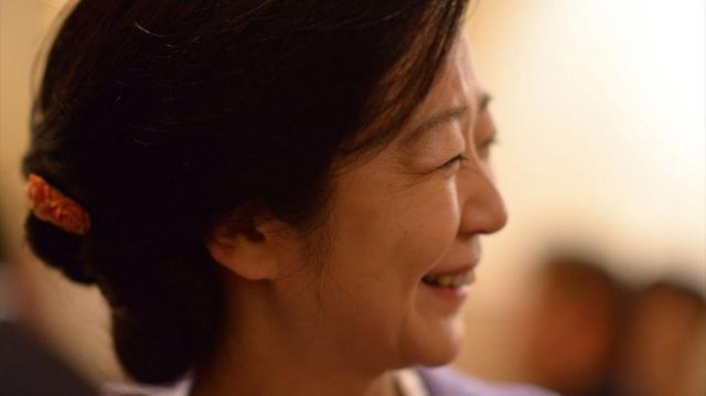 「叱られても、失敗して泣いても、お店に出続けるんです」(白坂亜紀さん)=東京都中央区、小玉重隆撮影