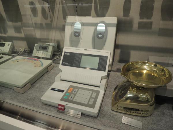 世界初の体内脂肪計