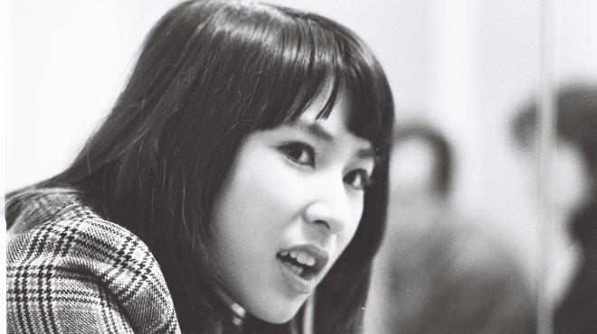 藤圭子さん=1970年12月17日