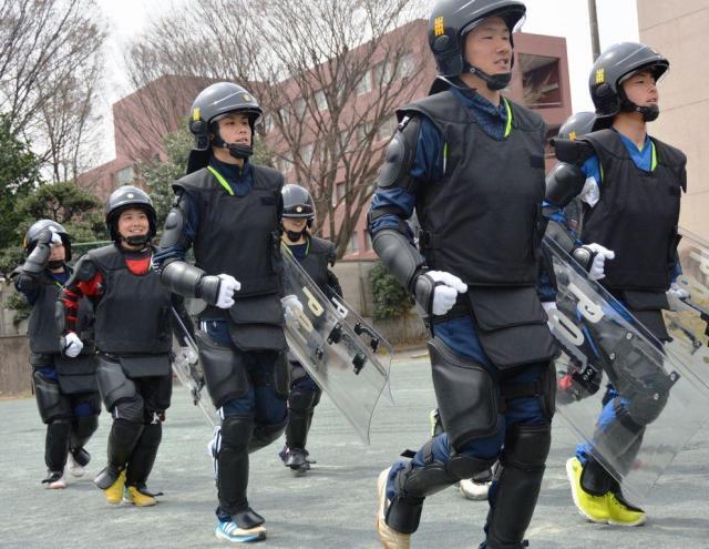 埼玉県警のインターンでは、こんな「実践的」な体験も