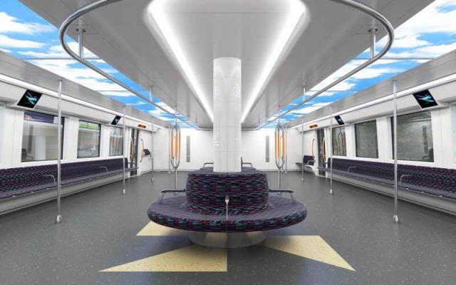 特殊バス内装空間のイメージ図