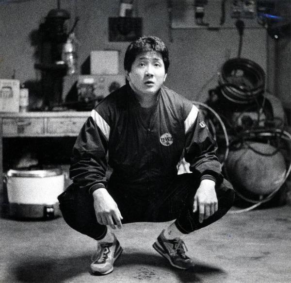 若者たちに絶大な人気を得た前田日明さん=1990年2月1日