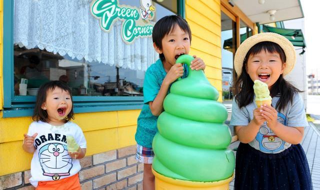 「おいしい!」「大好き!」と子どもにも人気=和歌山市舟津町、滝沢美穂子撮影