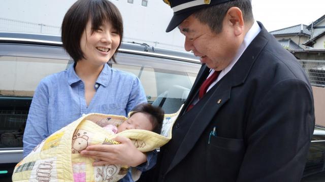 陣痛タクシーを利用して生まれた赤ちゃん