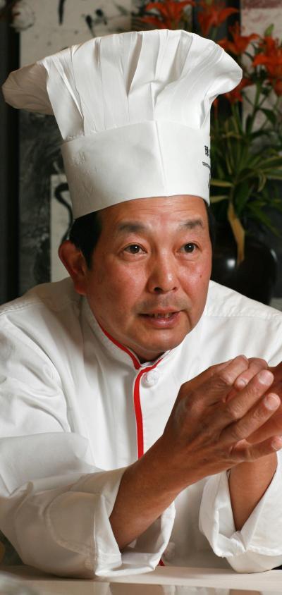 「料理の鉄人」としても有名な陳建一さん