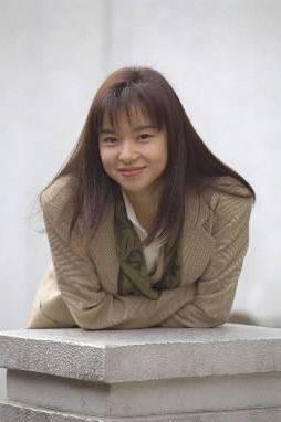 山口智子さん=1994年12月