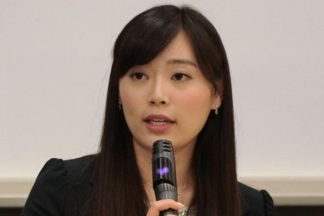 フリーアナウンサーの松本圭世さん。体験談を語ることについて「自分の心を削っています」と明かした
