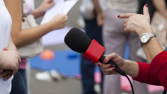 憧れだったアナウンサーとしての日々が一変した ※写真と記事は直接、関係ありません