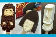 これがアイスクリーム彫刻