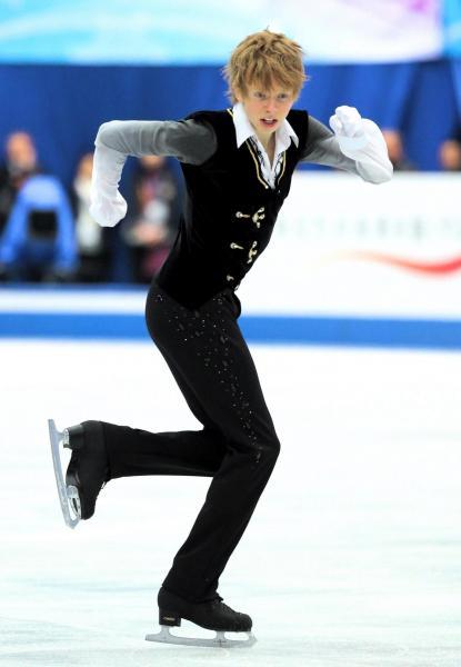 四大陸選手権で逆転優勝したケビン・レイノルズ=2013年2月、飯塚晋一撮影