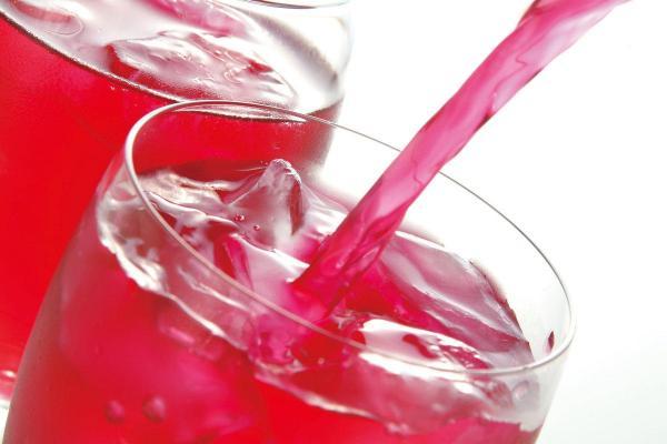 「赤しそ飲料ゆかり」