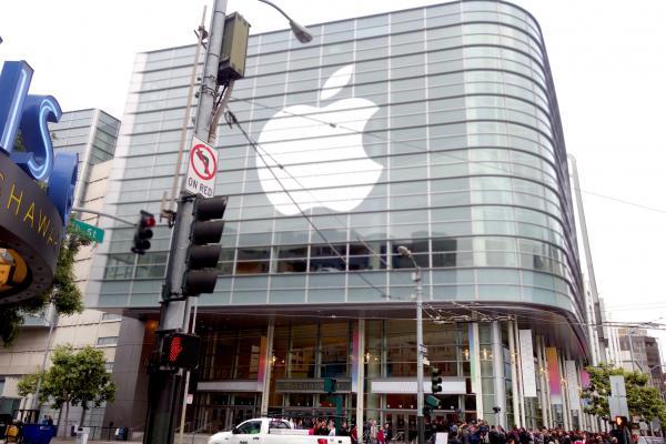 WWDC会場となった米・サンフランシスコのMoscone Center West(モスコーン・センター・ウェスト)=2014年6月、撮影・西田宗千佳氏