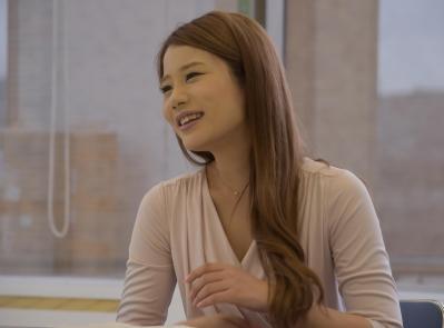 鈴木涼美さん=6月28日、東京・築地、奥山晶二郎撮影