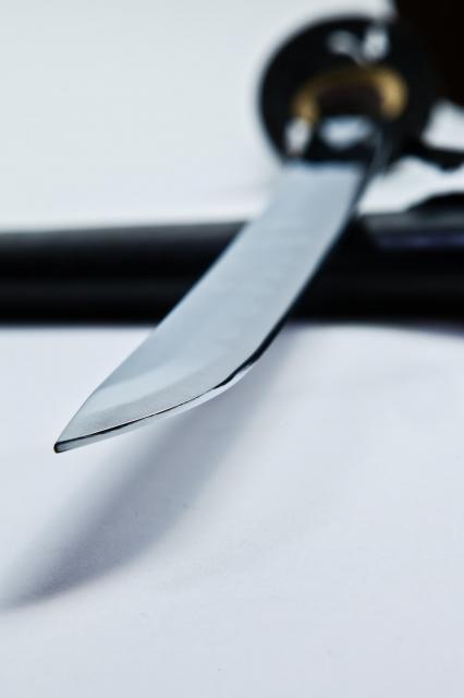 一番高い買い物は、中学生の時に買った模造刀